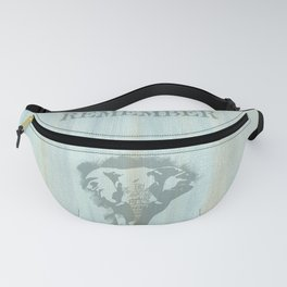 African Bull Elephant Remember Fanny Pack