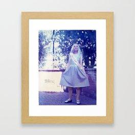 Birthday Girl Framed Art Print