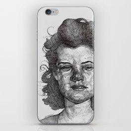 Roxy Renegade Queen of the Roller Derby iPhone Skin
