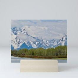 Grand Tetons Mini Art Print