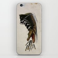 converse iPhone & iPod Skins featuring Crocodile Converse by Osman SARGIN