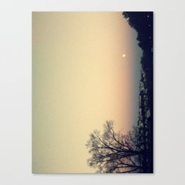 Sunset at SUNY Purchase Canvas Print