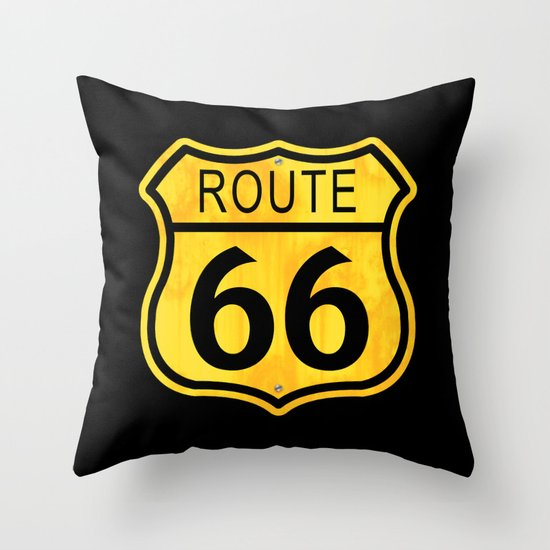 Road Trip! Throw Pillow