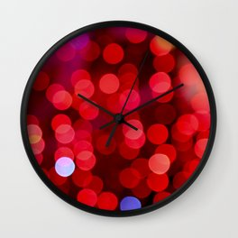 Desire is Burning Wall Clock