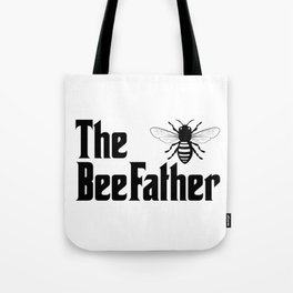 Beekeeping Funny Design - The BeeFather Tote Bag