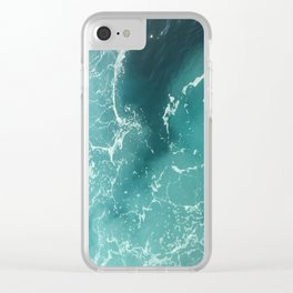 mediterranean waters Clear iPhone Case