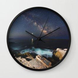 Distant Inspiration Wall Clock