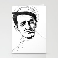 springsteen Stationery Cards featuring Woody Guthrie by Paul Nelson-Esch Art