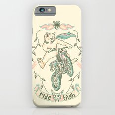 Motocross-Stitch Kitteh iPhone 6s Slim Case