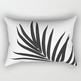 Tropical Palm Leaf #1 #botanical #decor #art #society6 Rectangular Pillow