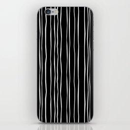 Wide Black Stripe iPhone Skin