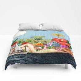 Siren Island Comforters