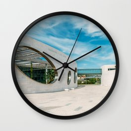 Champalimaud Foundation Centre For The Unknown, Wall Art Print, Modern Architecture Art Wall Clock