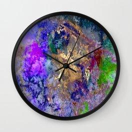 Abstract, galaxy Wall Clock