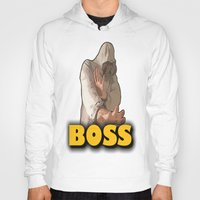 boss Hoodies featuring BOSS  by Robleedesigns