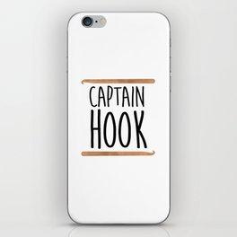 Captain Hook iPhone Skin
