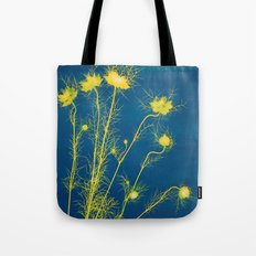 Photogram - Love in the Mist II Tote Bag