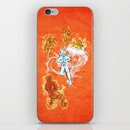 Elemental War iPhone Skin