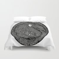 fawn Duvet Covers featuring Fawn by Anke Verret