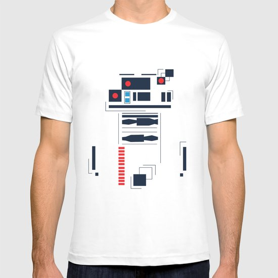 R2D2 Abstract T-shirt