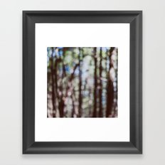 Mystify - Abstract Forest Landscape Framed Art Print