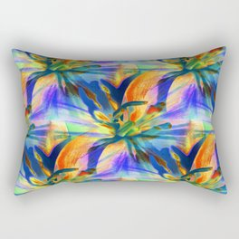 Floral  Exotica 4 Rectangular Pillow