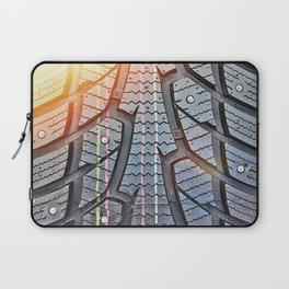 Background tread pattern winter tire Laptop Sleeve