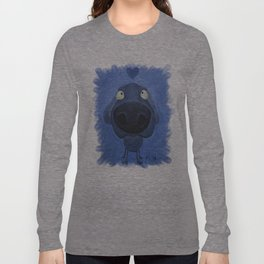 Weimaraner Love - Blue Long Sleeve T-shirt