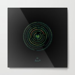Spectrographic Portrait of the King of Limbs #1 Metal Print