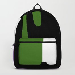 Genderqueer Slime Backpack