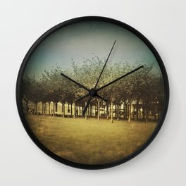 Somewhere a Park / Un parque de algún lugar Wall Clock