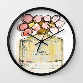 Daisy - Marc Jacob's Perfume Illustrated Wall Clock