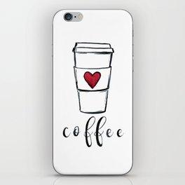 Coffee Love iPhone Skin