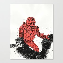 robot showbot Canvas Print