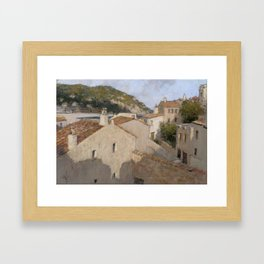 Tossa de Mar Framed Art Print