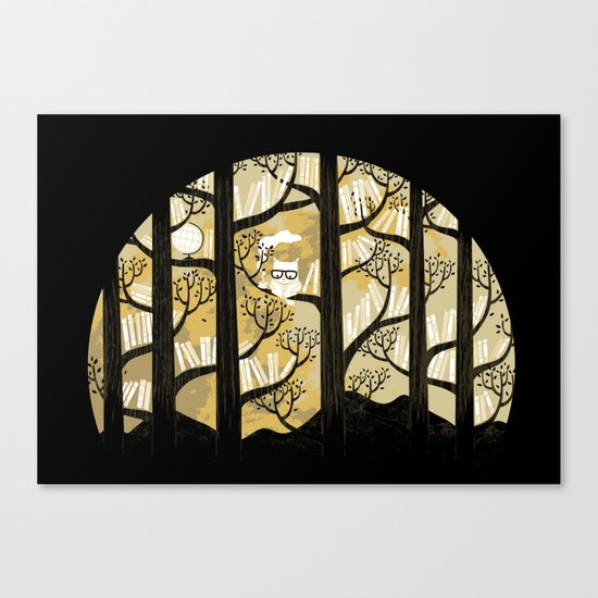 Why is an owl smart Canvas Print