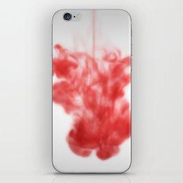 Red ink drop iPhone Skin
