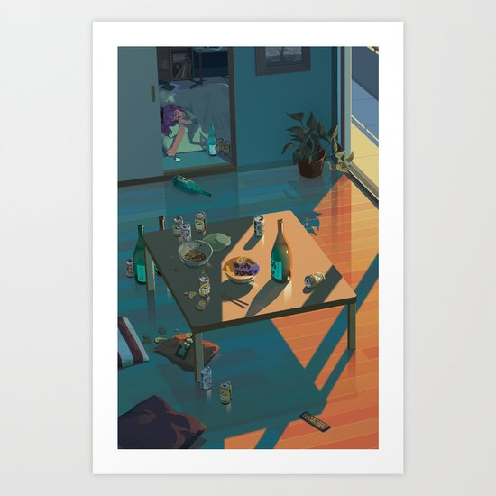 Dreaming of The Second Impact Art Print