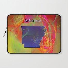 Arkansas Map Laptop Sleeve
