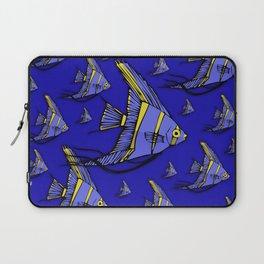 Angelfish Blue Laptop Sleeve
