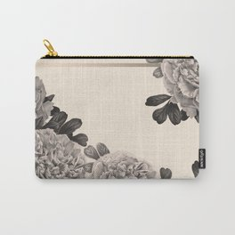 Flowers on a winter day Carry-All Pouch