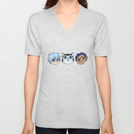 AoKuro family Unisex V-Neck