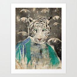 TIGA Art Print