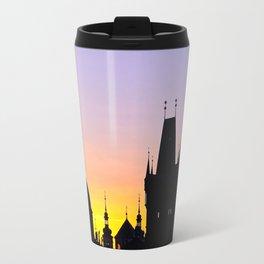 Sunrise at Karluv Most, Prague Travel Mug