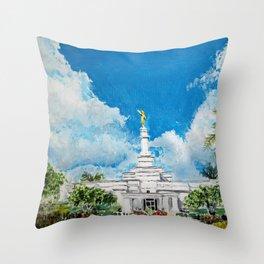Merida Mexico LDS Temple Throw Pillow