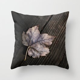 the lifelines of fall Throw Pillow