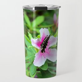 Nectar Sipping Butterfly Travel Mug
