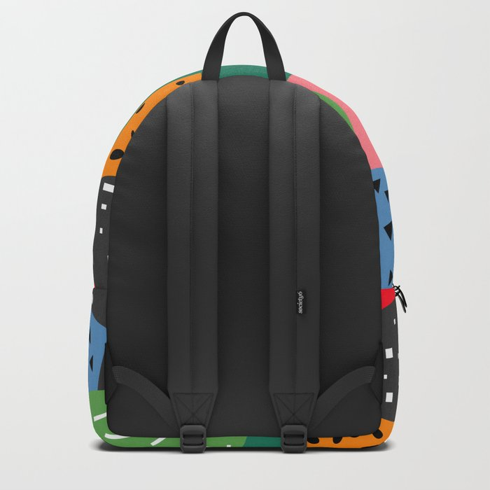 Bright shapes Backpack