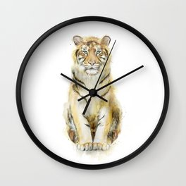 Tiger // Sound Wall Clock
