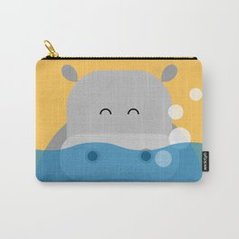 Hippo, geometric & minimalism Carry-All Pouch